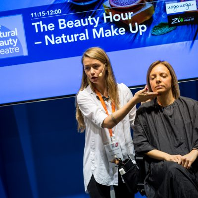 Natural Beauty Theatre demonstration